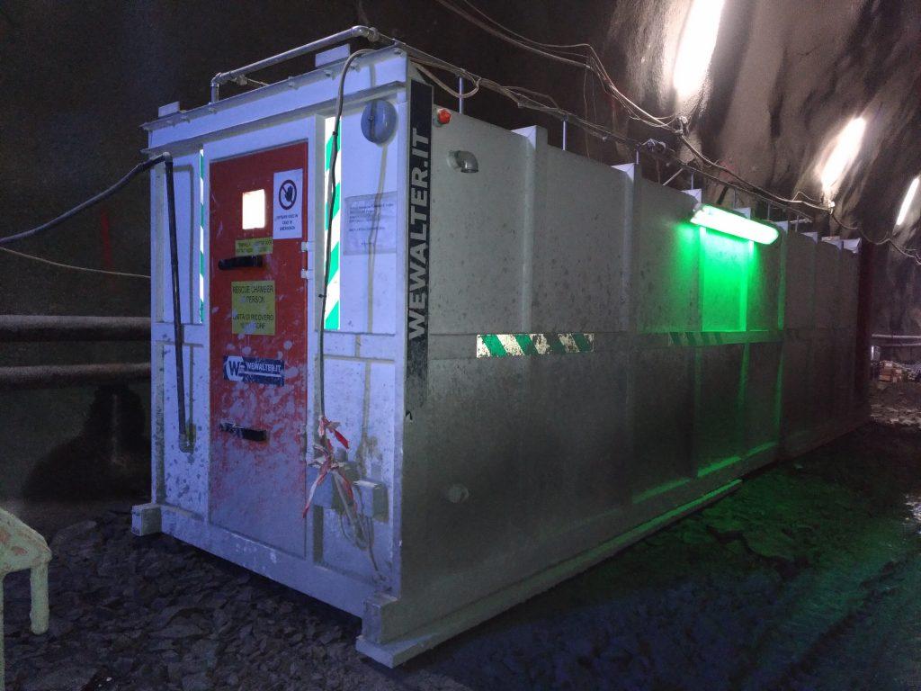 Refuge Chamber for follow line oslo