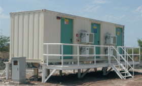 Desert Containerized Substation