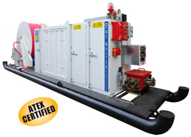 PAK-exp SERIES – Certified EEX-P Group I Pressurized Substation for Tunelling