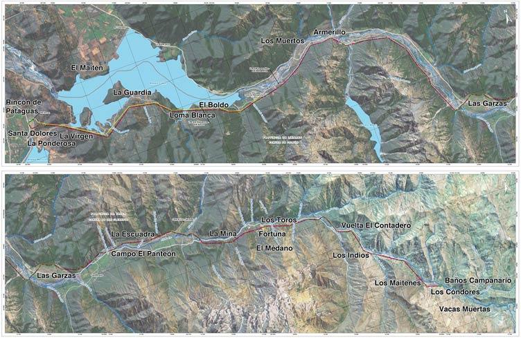 Los Condores Map